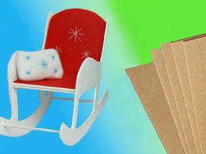Что можно сделать из картона для кукол? Из чего сделать мебель для кукол?. Ярмарка Мастеров - ручная работа, handmade.