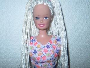 Делаем новые волосы для куклы Барби. Ярмарка Мастеров - ручная работа, handmade.