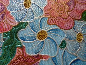 Видео к работе Картина холст масло Декоративные цветы 40х60см. Ярмарка Мастеров - ручная работа, handmade.
