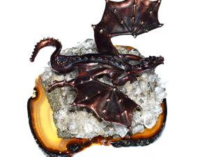 «Смауг Великий и Ужасный»  — новая композиция для любителей Дж. Р. Р. Толкина. Ярмарка Мастеров - ручная работа, handmade.