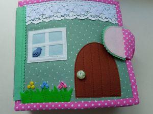 Кукольный домик из фетра. Ярмарка Мастеров - ручная работа, handmade.