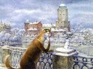 Петербургские коты остались без хозяина. Ярмарка Мастеров - ручная работа, handmade.