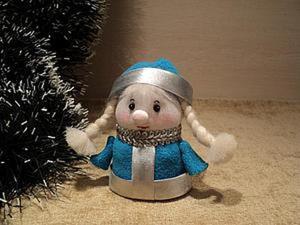 Мастерим внучку Снегурочку (первая часть). Ярмарка Мастеров - ручная работа, handmade.