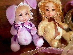 Создаем туловище для кукло-мишки в стиле «тедди-долл». Ярмарка Мастеров - ручная работа, handmade.
