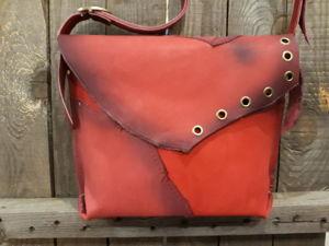 Красивая Красная сумочка. Ярмарка Мастеров - ручная работа, handmade.