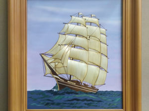 Создаем панно из соломы «Корабль Виктория». Ярмарка Мастеров - ручная работа, handmade.