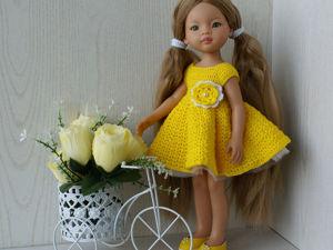 Желтый наряд для Паола Рейна. Ярмарка Мастеров - ручная работа, handmade.
