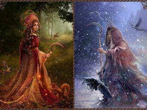 Исторический обзор образа богини Мораны в фольклоре славянских народов. Ярмарка Мастеров - ручная работа, handmade.