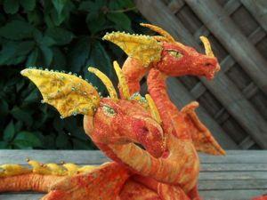 Мастер-класс: шьем текстильную игрушку Змея-Горыныча. Ярмарка Мастеров - ручная работа, handmade.