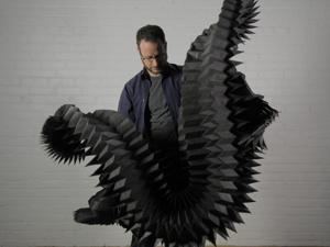 Голова кругом! Подвижная статика в 25 гипнотизирующих бумажных скульптурах Мэтта Шлиана. Ярмарка Мастеров - ручная работа, handmade.