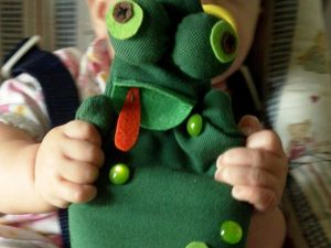 Sewing a Toy Frog for Kids. Livemaster - handmade