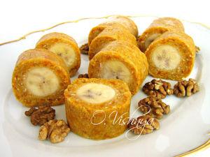 Вкусно и полезно: Банановые роллы и печенье  «Улитка». Ярмарка Мастеров - ручная работа, handmade.