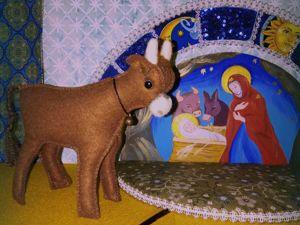 Пора подумать о Рождественском вертепе!. Ярмарка Мастеров - ручная работа, handmade.