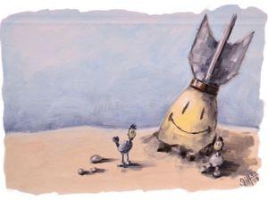 День 255. Этюд маслом  «Хорошего настроения». Ярмарка Мастеров - ручная работа, handmade.