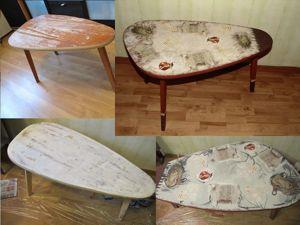 Дарим новую жизнь старой мебели. Мастер-класс по декупажу. Ярмарка Мастеров - ручная работа, handmade.