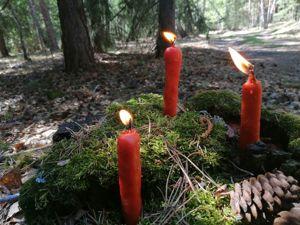 Новые свечи, ведьмочки!!!. Ярмарка Мастеров - ручная работа, handmade.