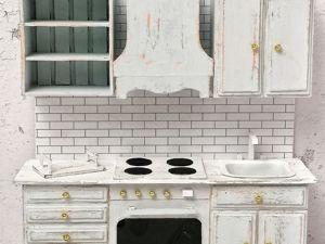 Делаем кухню для куклы. Часть 1. Ярмарка Мастеров - ручная работа, handmade.