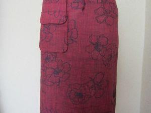 Льняные юбки для осени. Ярмарка Мастеров - ручная работа, handmade.