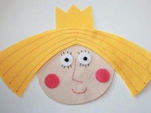 Sewing a Felt Doll to Decorate a Nursery. Livemaster - handmade