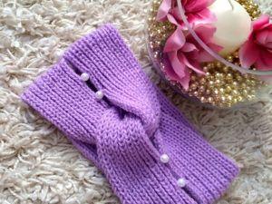 Мода на повязки. Ярмарка Мастеров - ручная работа, handmade.