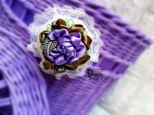 9 причин влюбиться в вышивку атласными лентами. Ярмарка Мастеров - ручная работа, handmade.