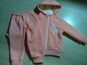 Шьем детский костюм из футера с начесом на меху. Ярмарка Мастеров - ручная работа, handmade.