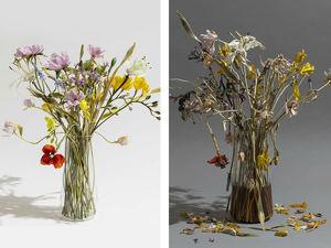 Цветочный декаданс: итальянка показывает красоту увядания, создавая реалистичные букеты из стекла. Ярмарка Мастеров - ручная работа, handmade.