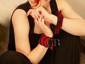 Делаем необычные браслеты из ткани. Ярмарка Мастеров - ручная работа, handmade.