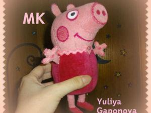 Шьем свинку Пеппу своими руками. Ярмарка Мастеров - ручная работа, handmade.