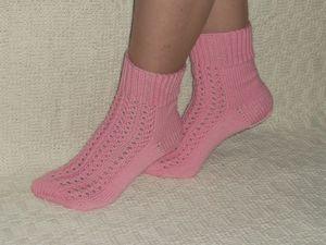 Скидка на носочки женские Ажурные 25%. Ярмарка Мастеров - ручная работа, handmade.