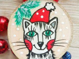 Новогоднее украшение своими руками. Ярмарка Мастеров - ручная работа, handmade.