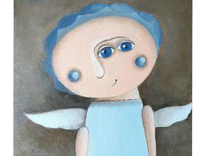 Видео  «Мой Ангел». Ярмарка Мастеров - ручная работа, handmade.