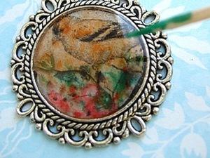 Делаем кулон с птицей! - 1 часть. Ярмарка Мастеров - ручная работа, handmade.