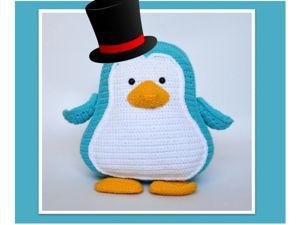Вяжем пингвина Чикчик. Ярмарка Мастеров - ручная работа, handmade.