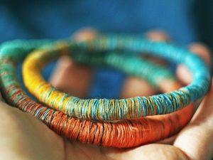 Просто, красиво и со вкусом! 15 самых интересный идей из одной нитки. Ярмарка Мастеров - ручная работа, handmade.