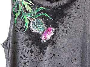 Мой образ — «Чертополох». Ярмарка Мастеров - ручная работа, handmade.
