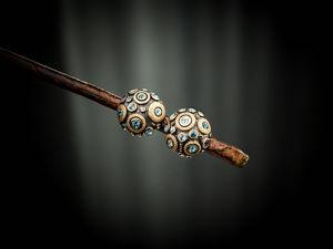 Видео серег с голубыми топазами Mosaic Round. Ярмарка Мастеров - ручная работа, handmade.