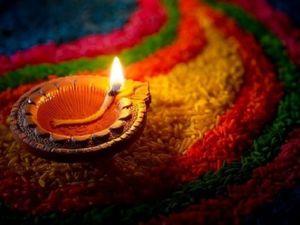 Красота праздника Дивали. Ярмарка Мастеров - ручная работа, handmade.
