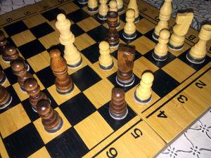 Мастер-класс: как сделать бамбуковые шахматы тяжелее. Ярмарка Мастеров - ручная работа, handmade.