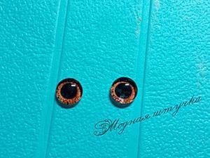 Как изготовить глазки для кукол и изделий из полимерной глины. Ярмарка Мастеров - ручная работа, handmade.