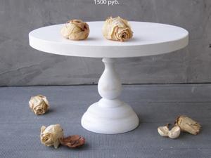 Белые тортовницы в наличии. Ярмарка Мастеров - ручная работа, handmade.