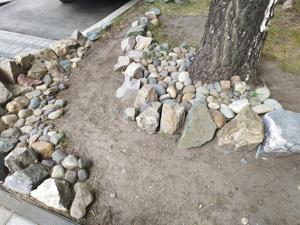 Камни на даче: 4 идеи украшения участка камнями (габионы, спираль, склоны, шикарная садовая дорожка). Ярмарка Мастеров - ручная работа, handmade.