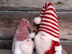 Шьем новогоднего гнома. Ярмарка Мастеров - ручная работа, handmade.