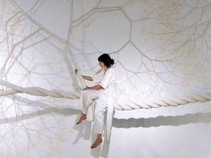 Инсталляции из канатов бразильской художницы Janaina Mello Landini. Ярмарка Мастеров - ручная работа, handmade.