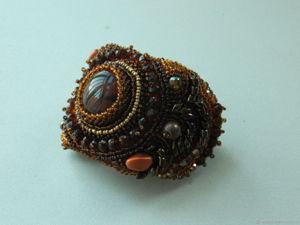 Аукцион на вышитые бисером браслеты. Ярмарка Мастеров - ручная работа, handmade.