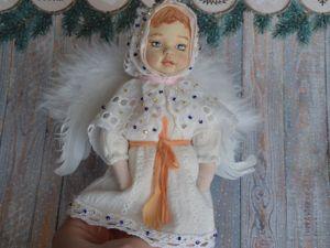 Создаем ангелочка — игрушку на елку. Ярмарка Мастеров - ручная работа, handmade.