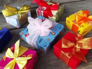 Делаем своими руками подарочную коробочку всего за 3 минуты. Ярмарка Мастеров - ручная работа, handmade.