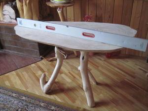 Замена столешницы оригинального обеденного стола с реставрацией подстолья. Часть 1: подготовка элементов. Ярмарка Мастеров - ручная работа, handmade.