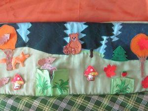 В подарок малышу: делаем развивающий коврик-трансформер. Часть 3. Ярмарка Мастеров - ручная работа, handmade.