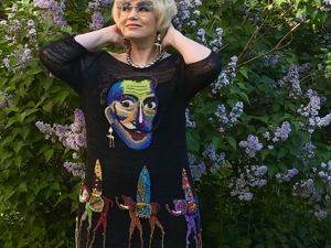 Платье Акварельный Сальвадор. Ярмарка Мастеров - ручная работа, handmade.